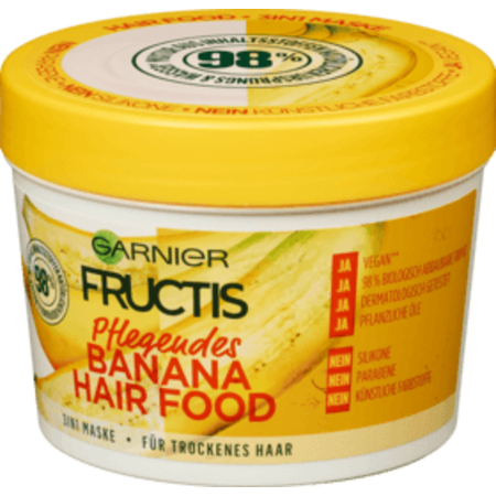Garnier Fructis Haarmasker Banana Hair Food 390 ml