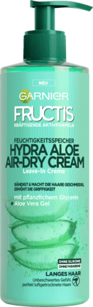Garnier Fructis Hydra Aloe Air-Dry Cream 400ml