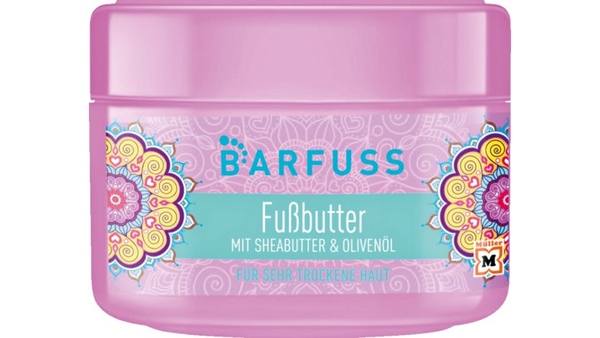 BARFUSS - Voetboter met Shea Butter 200 ml