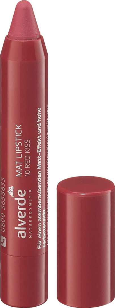 Alverde Mat Lipstick Red Kiss 10 4 ml