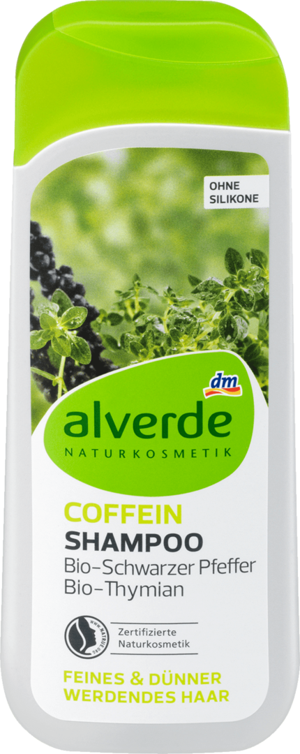 Alverde Shampoo Coffein 200 ml