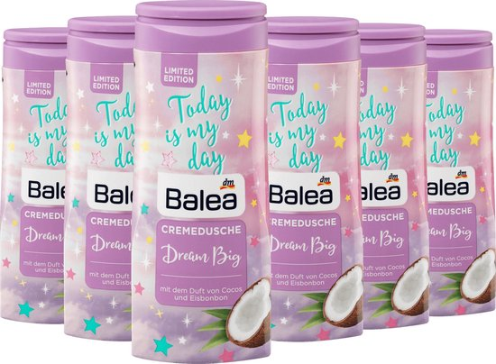 Balea Douchecreme Dream Big Limited Edition - 6 pack 6 x 300 ml