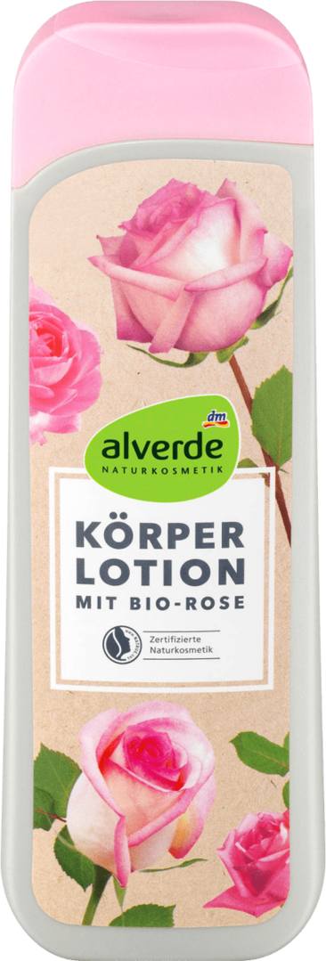 Alverde Bodylotion Bio Rose 250 ml